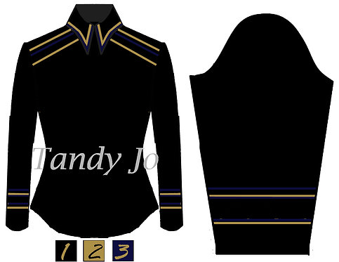 Simple Chic: Black - Navy - Gold