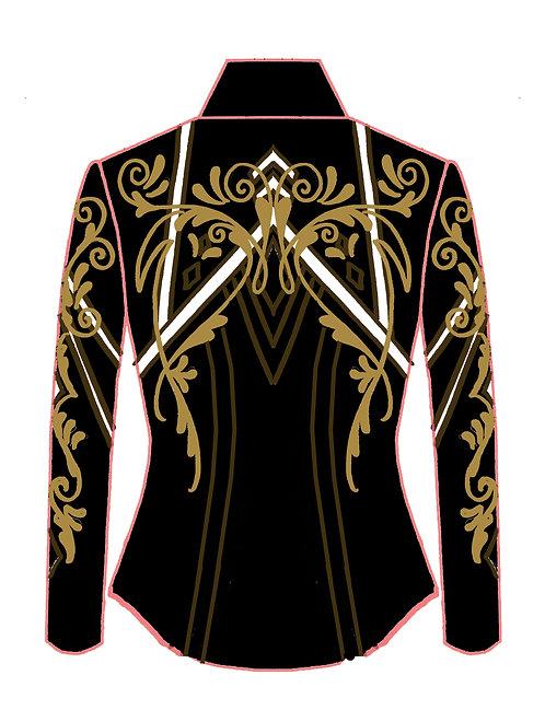 Black - White - Bronze - Camel: Designer Code: WOPQ