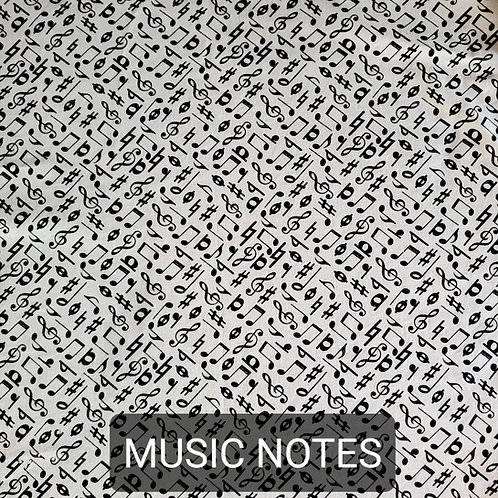 Face mask - Music Notes