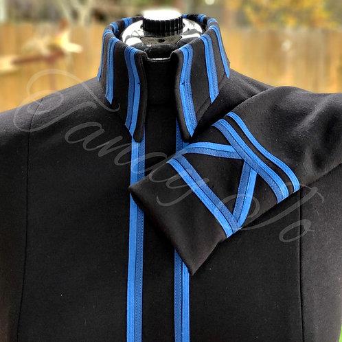 Black - Royal Blue -Deep Blue - horsemanship day shirt - Ready to crystal