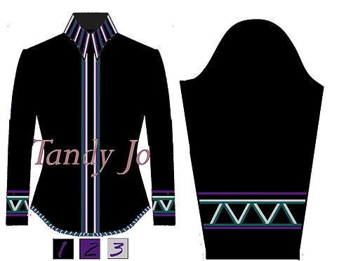 Simple Chic: Purple, silver, teal