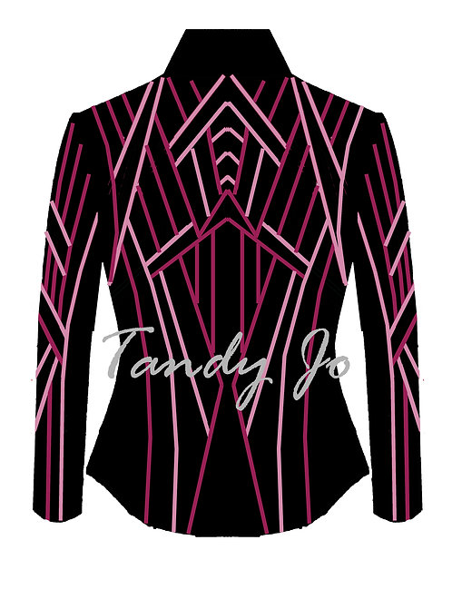 Black - Fuchsia - Pink: Designer Code: NESU