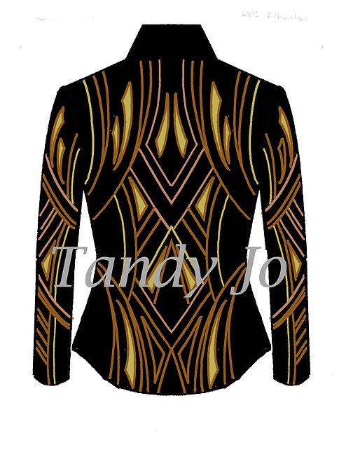 Black - Copper - Gold - Rose Gold : Designer Code: GJEG