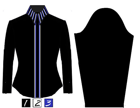 Simple Chic: Black - White - Royal Blue