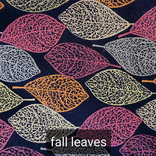 Face mask - fall leaves