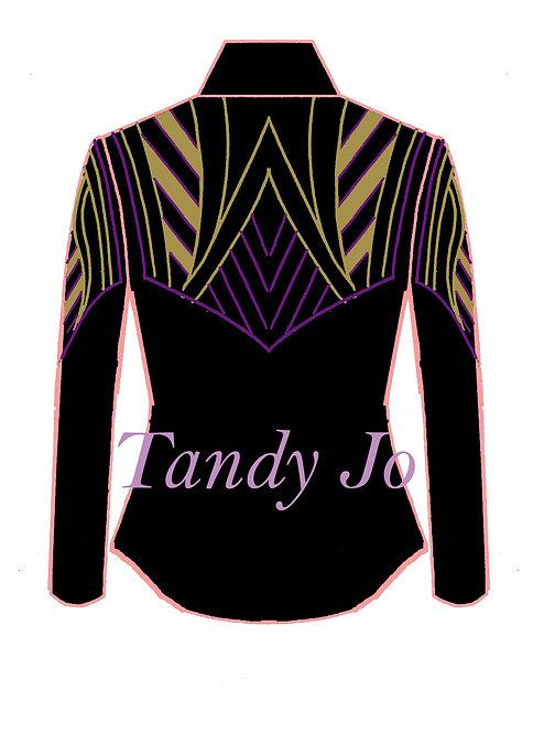 Black - Purple - Gold: Designer Code: GTET
