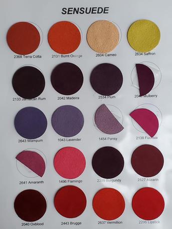 Ultrasuede Colors