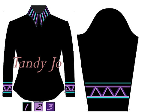Simple Chic Black, Mint, Purple, Lavender, White