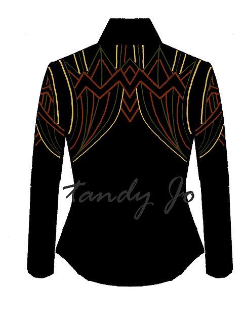 Black - Camel - Rust - Olive: Designer Code:FJTY