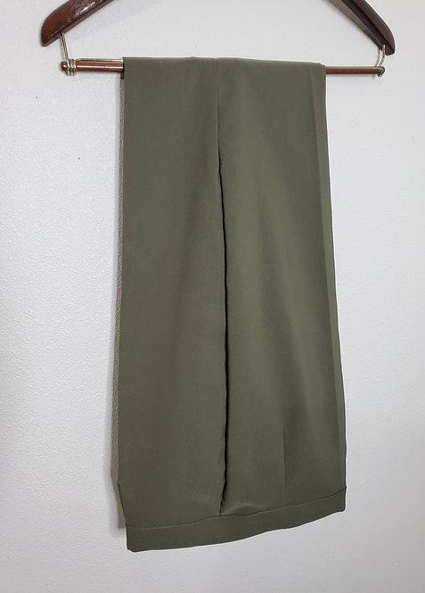 Brand new olive slacks 34-36 waist