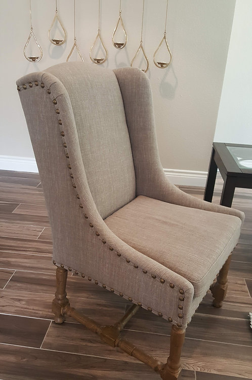 2 Gray Accent Chairs