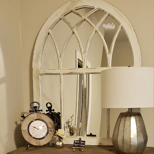 White Gothic Mirrors