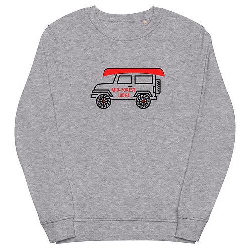 Jeep-Unisex organic sweatshirt