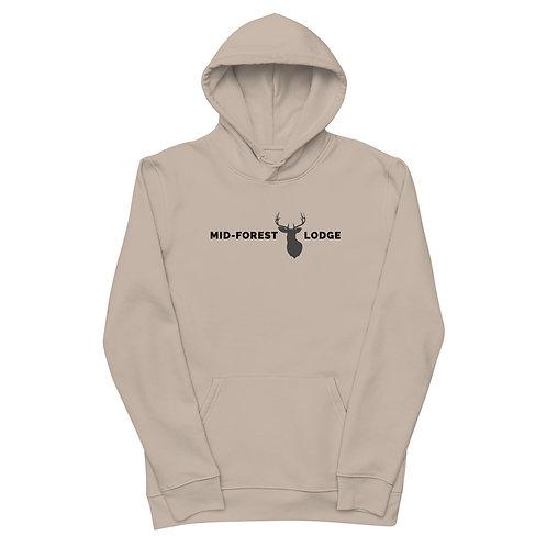 Horizontal-Unisex essential eco hoodie