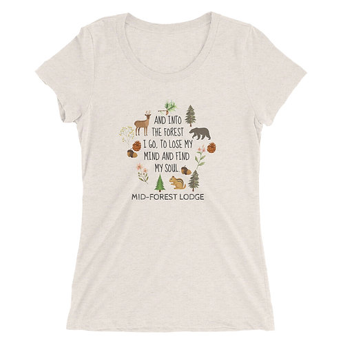 Into the Forest- Ladies' Tee