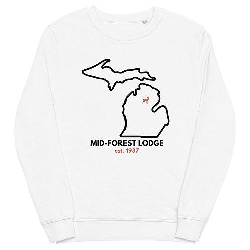 State- Unisex organic sweatshirt