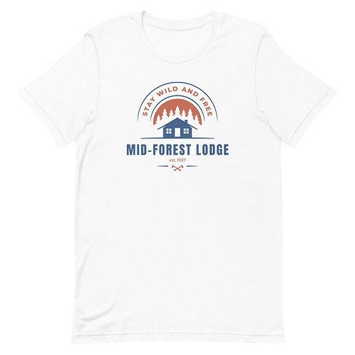 Wild and Free- Short-Sleeve Unisex T-Shirt
