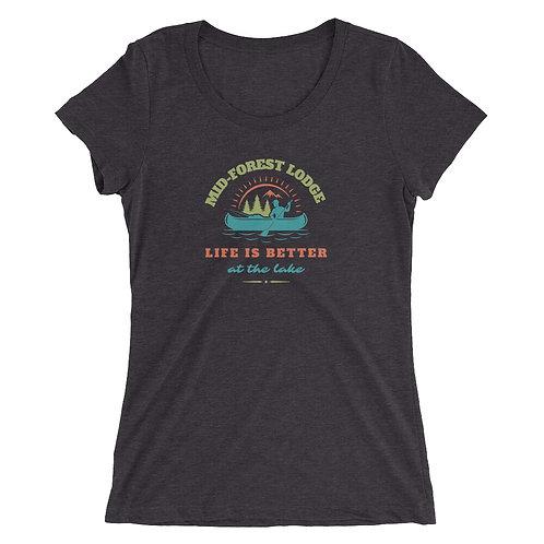 Life Better- Ladies' short sleeve t-shirt