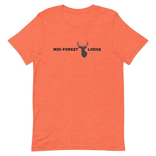 Horizontal- Short-Sleeve Unisex T-Shirt