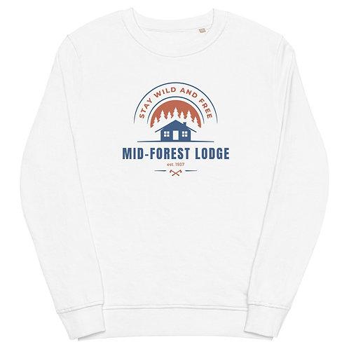 Wild and Free- Unisex organic sweatshirt