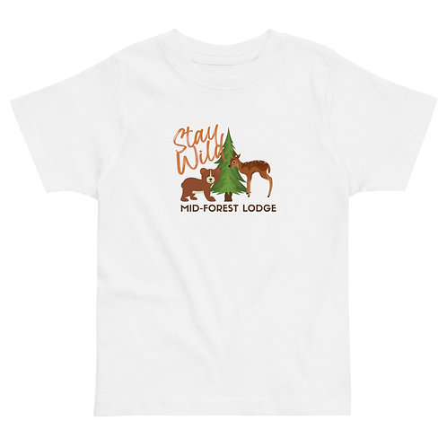 Stay Wild-Toddler Tee (Sz 2-6) (Mult.Colors)