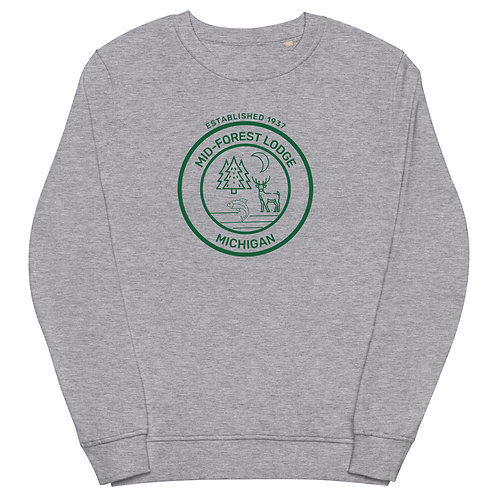 Medallion- Unisex organic sweatshirt