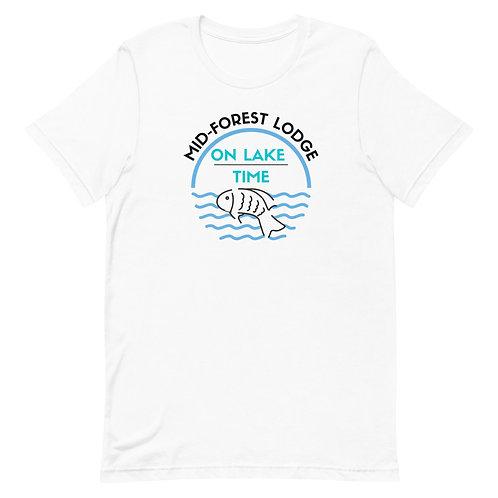 Lake Time- Short-Sleeve Unisex T-Shirt