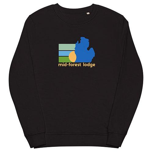 State and Sun- Unisex organic sweatshirt