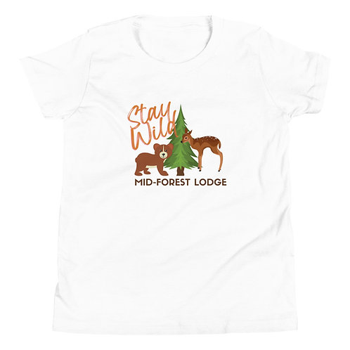 Stay Wild-Youth Tee (Sz. S-XL) (Mult.Colors)