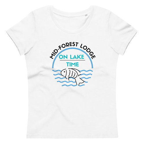 Lake Time- Women's fitted eco tee
