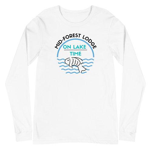 Lake Time- Unisex Long Sleeve Tee