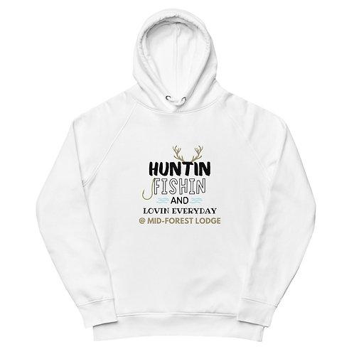 Huntin Fishin- Unisex pullover hoodie