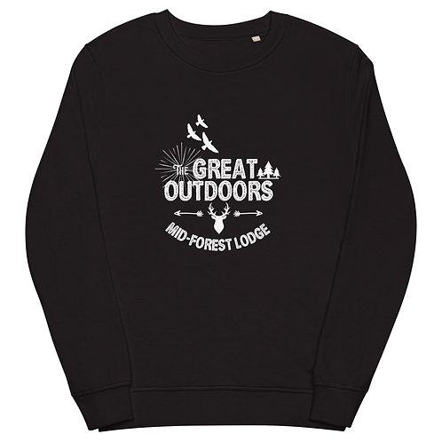 Great Outdoors-Unisex organic sweatshirt