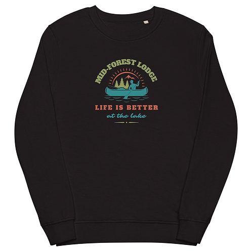 Life Better- Unisex organic sweatshirt