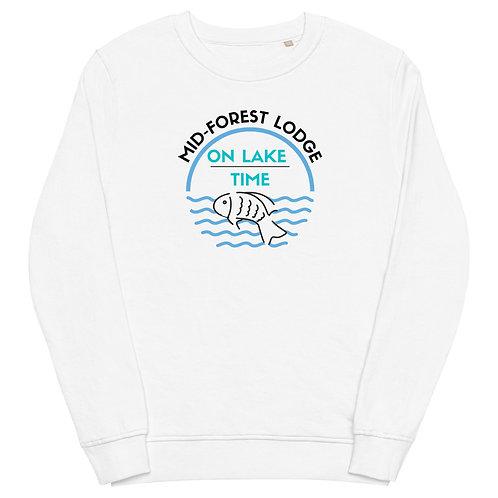 Lake Time- Unisex organic sweatshirt