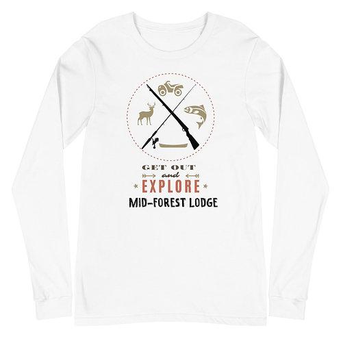 Explore- Unisex Long Sleeve Tee