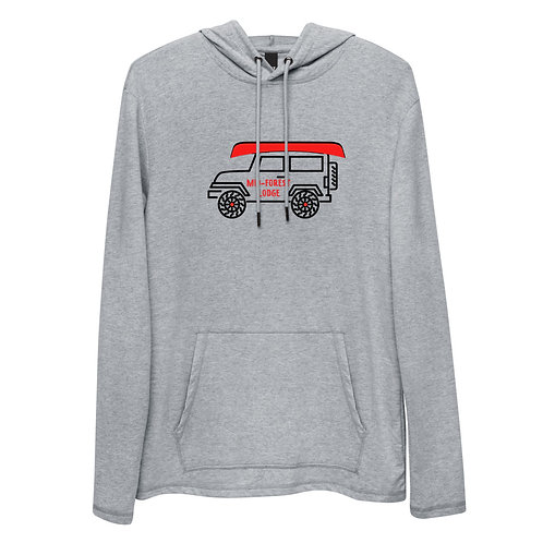 Jeep- Unisex Lightweight Hoodie