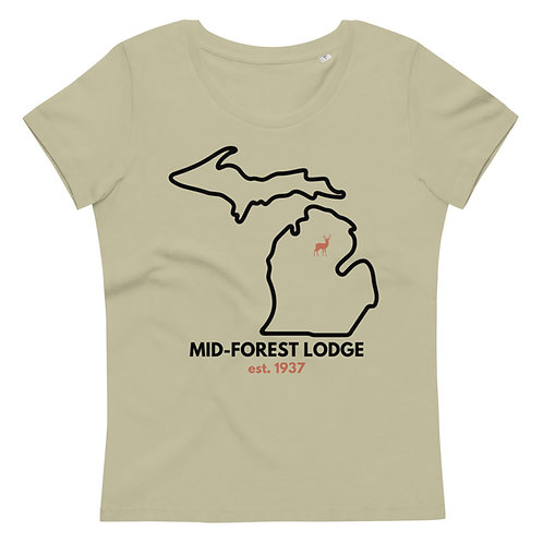 State- Women's fitted eco tee