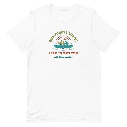 Life Better-Short-Sleeve Unisex T-Shirt