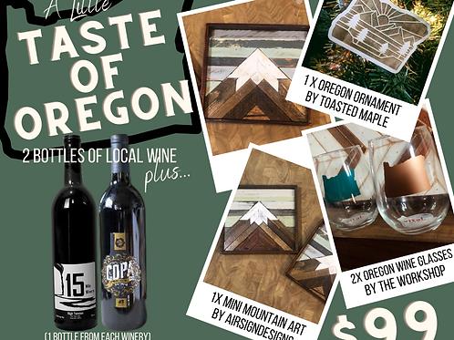 A Little Taste of Oregon: Red Wine Package