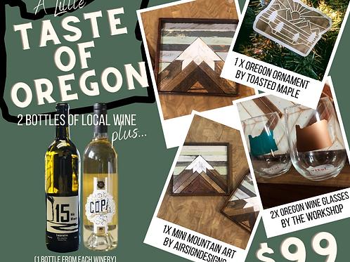 A Little Taste of Oregon: White Wine Package