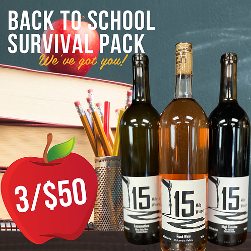Back to School Survival Pack