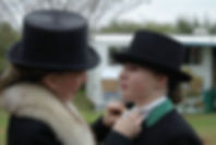 side saddle, sidesaddle, ride side saddle, ride aside, ride sidesaddle, how to ride side saddle, how to fit a side saddle, annual gathering, international side saddle organization, isso, allison crews and the vixens
