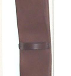 Trifold Leather Girths