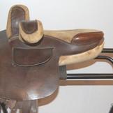 Owen-style Child's side saddle