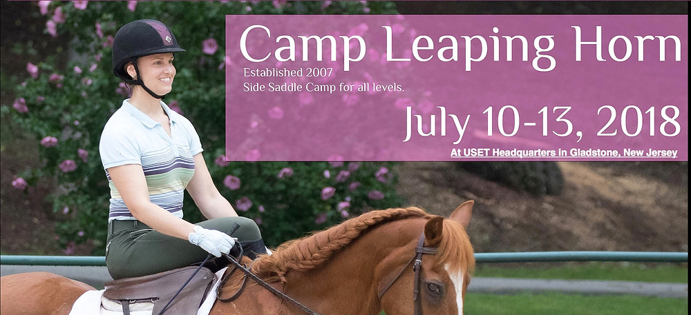 We hope you'll join us at Camp Leaping Horn, July 10-13, 2018