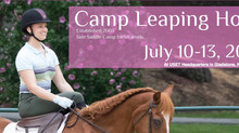 NJ's ONLY Annual Side Saddle Camp