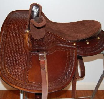 Youth Western Saddle