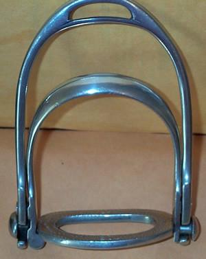 Breakaway Modern Stirrup Iron