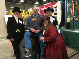 PA Expo 2019 Laureen, gentleman and members